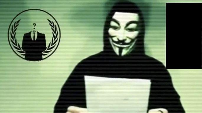 """مجموعة """"أنونيموس"""" تعلن الحرب الالكترونية ضد تنظيم الدولة الاسلامية"""