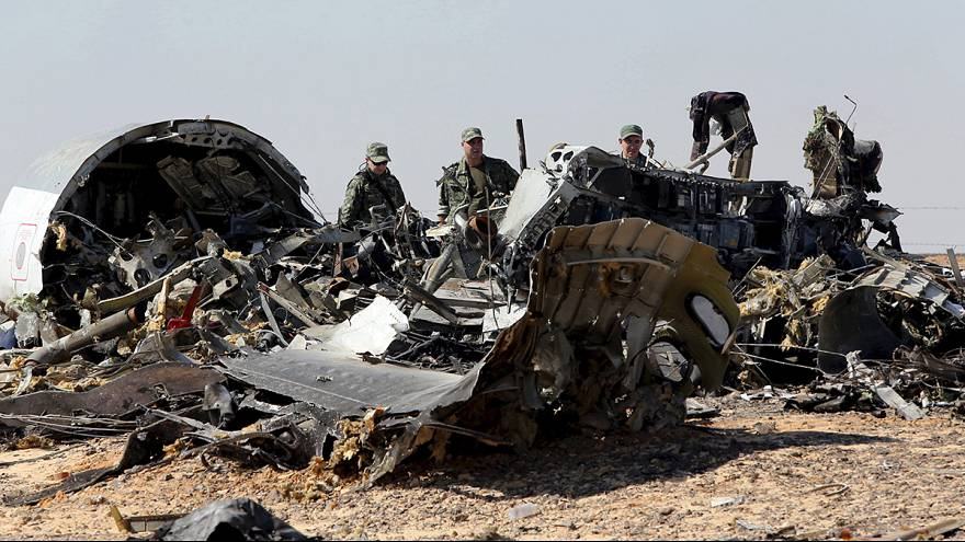 La Russia conferma: lo schianto dell'aereo russo in Egitto è stato provocato da un attentato.