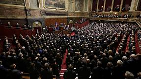 French MPs sing La Marseillaise in response to Paris attack