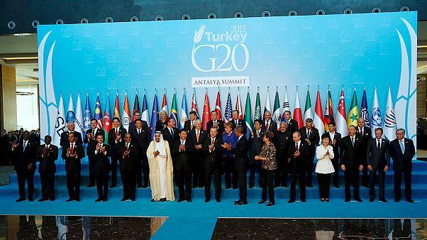 G20 mantém meta de crescer mais 2% até 2018
