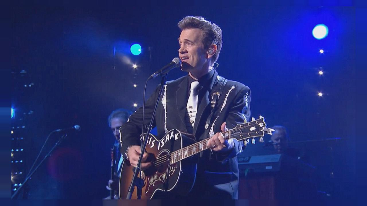 O novo álbum de Chris Isaak