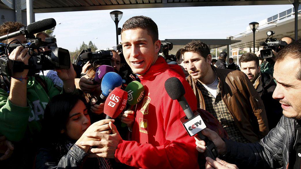 Bélgica-Espanha cancelado, La Roja já está em casa
