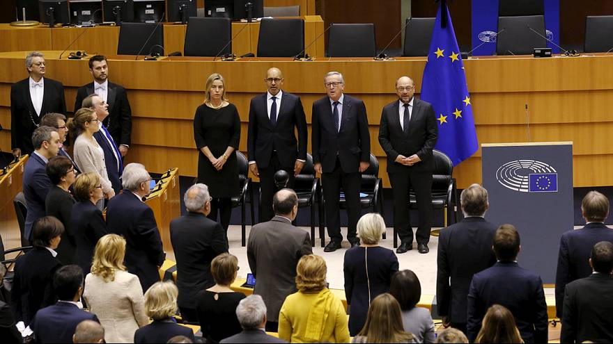 Депутаты Европарламента спели «Марсельезу»