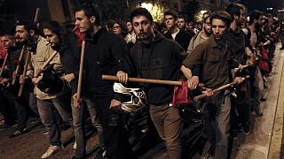 Violence in Athens as Greece marks anniversary of key student revolt in 1973