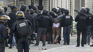 Paris'te düzenlenen şafak operasyonu sona erdi