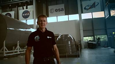 Commencing countdown – ESA astronaut prepares for trip to ISS