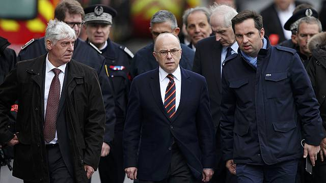 French Interior Minister Bernard Cazeneuve praises 'courageous' police