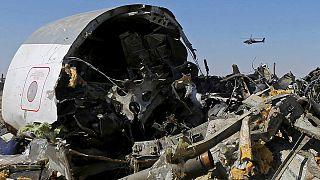 تنظيم الدولة الإسلامية ينشر صوراً للقنبلة التي أسقطت الطائرة الروسية ويعلن قتل رهينتين