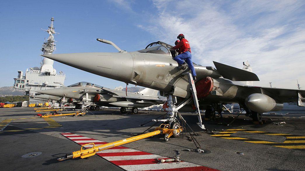 Nouvelles frappes de la Russie et de la France en Syrie