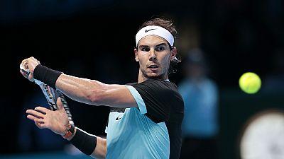Nadal, con pie y medio en las semifinales de la Copa de Maestros