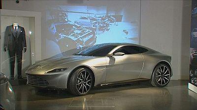 'Bond in Motion' 007's wheels on show in London