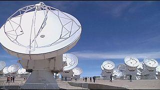 Телескоп размером с Землю начинает работу