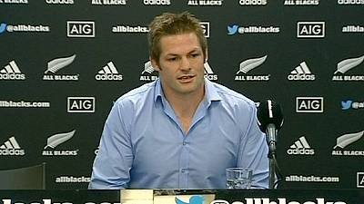 All Blacks record-breaking skipper McCaw hangs up boots
