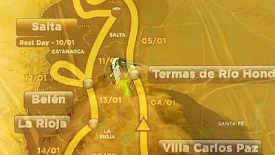 Dakar 2016 fica-se por Argentina e Bolívia