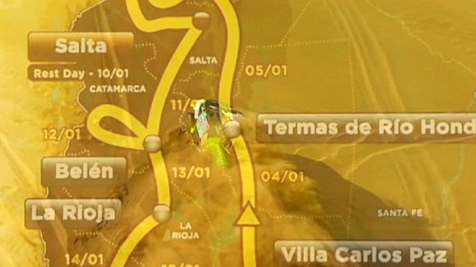 Dakar 2016 race route unveiled