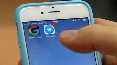 Telegram messaging app struggles to block ISIS sites