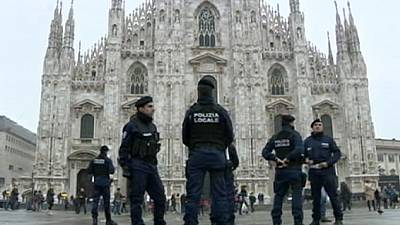 Italy raises security level in wake of Paris attacks