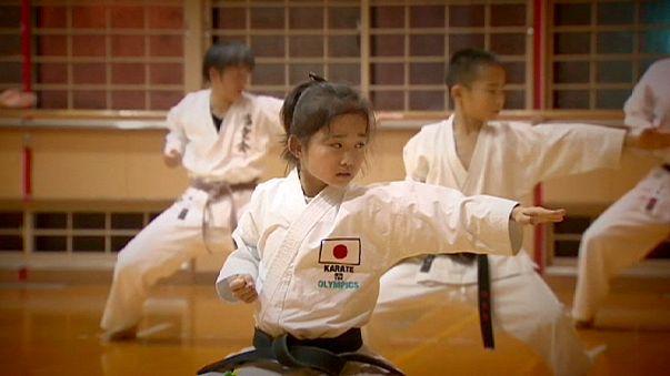 9 yaşında bir karate ustası: Mahiro Takano