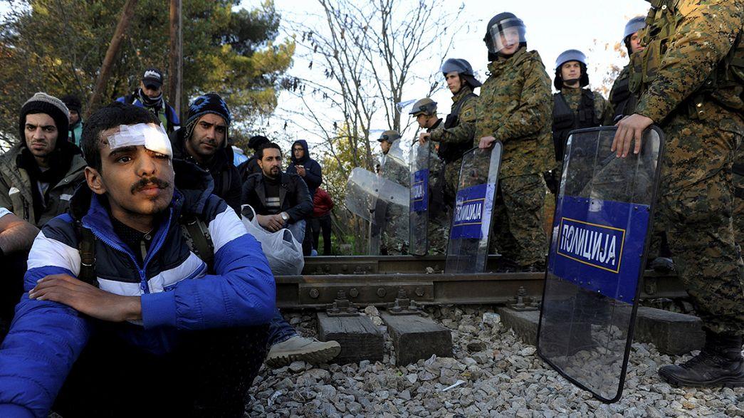 El paso por la ruta de los Balcanes limitado a refugiados sirios, iraquíes y afganos