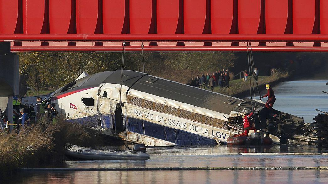 El descarrilamiento del TGV cerca de Estrasburgo se debe a un fallo humano