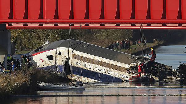 Excessive speed caused deadly train derailment in France