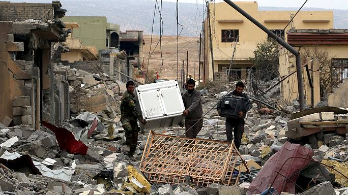 Sinjar: first images show total devastation