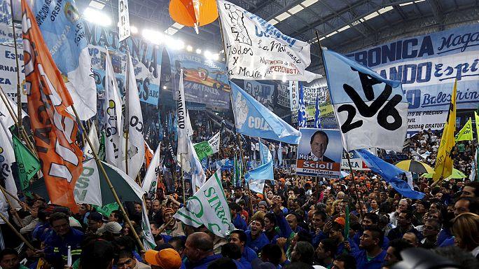 Argentína: nagyszabású kampány a hétvégi választás előtt