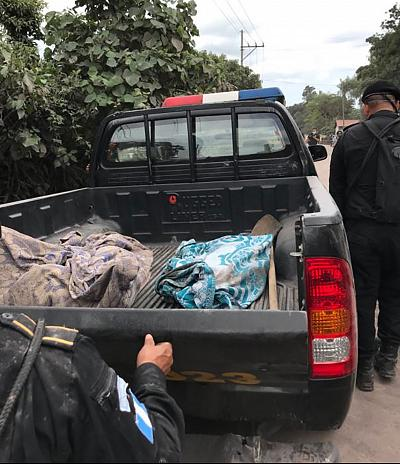 More bodies found today in the town of El Rodeo, Guatemala - one of the hardest hit towns following this weeks eruptions as the death toll rises.