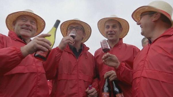 Chegada do Beaujolais Nouveau celebrada de forma mais comedida