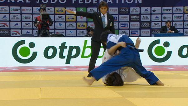 Primer jornada del Gran Premio de Judo en Qingdao