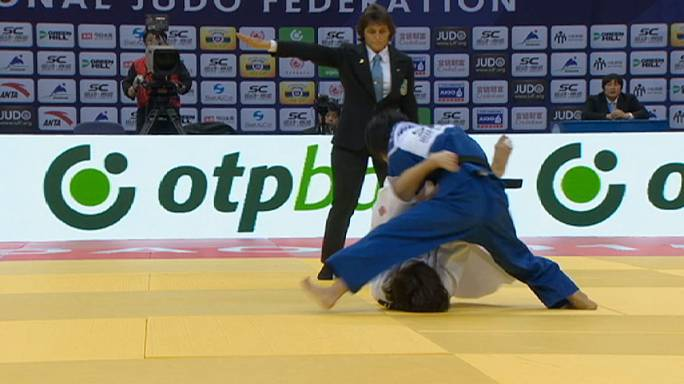 Judo: Rising star Tonaki shines in Qingdao