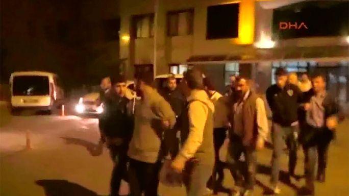 بازداشت سه مظنون در ترکیه در ارتباط با حملات جمعه سیاه پاریس