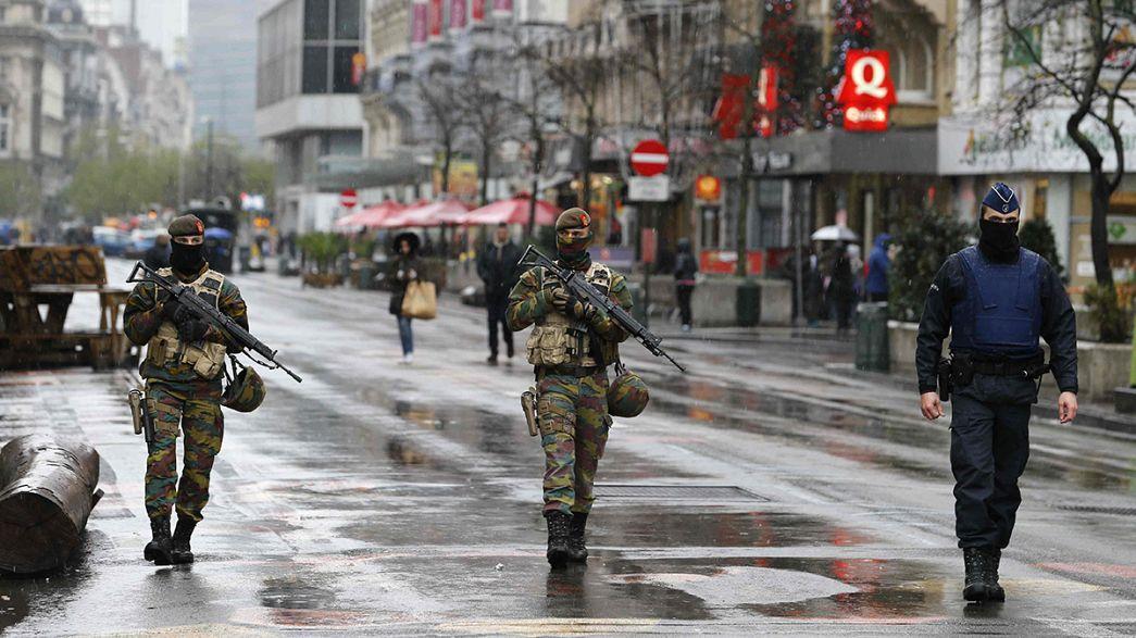 Massima allerta a Bruxelles: chiusa anche la metropolitana