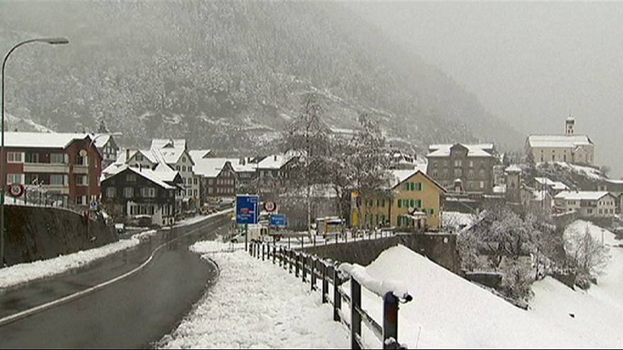 Switzerland, winter is comming