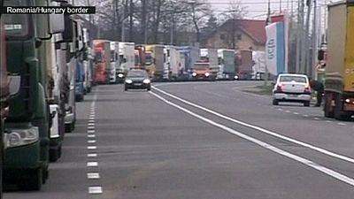 Balkan border controls cause knock-on effect