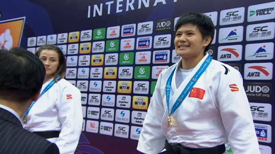 Segunda jornada del Gran Premio de Judo en Qingdao