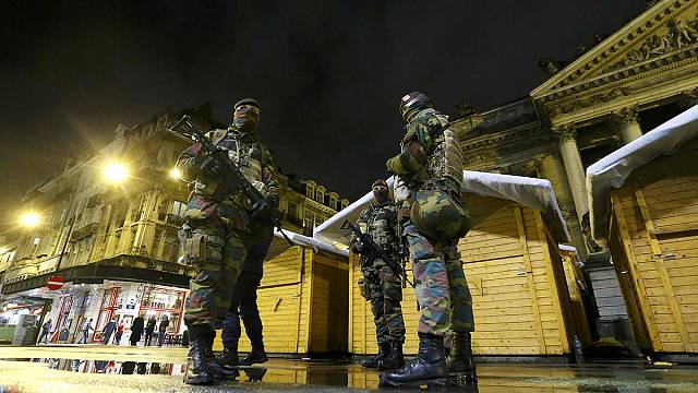 Brussels remains on high alert amid fears of Paris-style attack