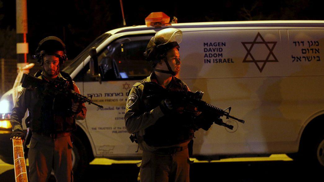 Quatre Israéliens poignardés par un adolescent palestinien