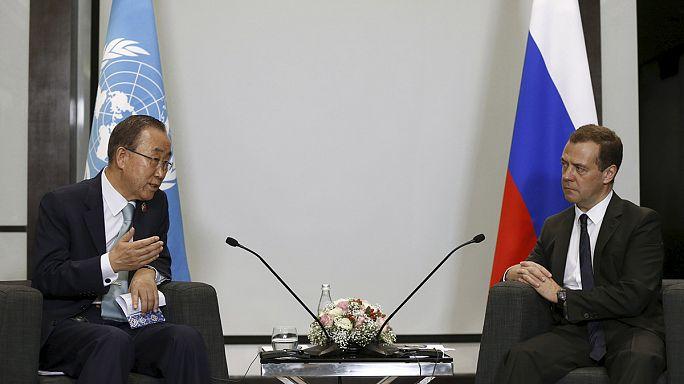 Ban Ki Moon Rusya ve ABD'yi teröre karşı işbirliğine davet etti