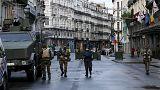 Strade vuote, bar chiusi e tanta polizia. Bruxelles è una città fantasma
