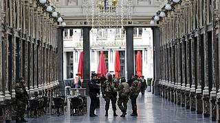 Alerta máxima en Bruselas por segundo día consecutivo