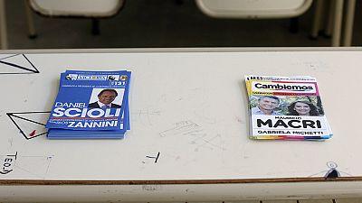 Ballottaggio presidenziale in Argentina. la sfida è tra Scioli e Macri
