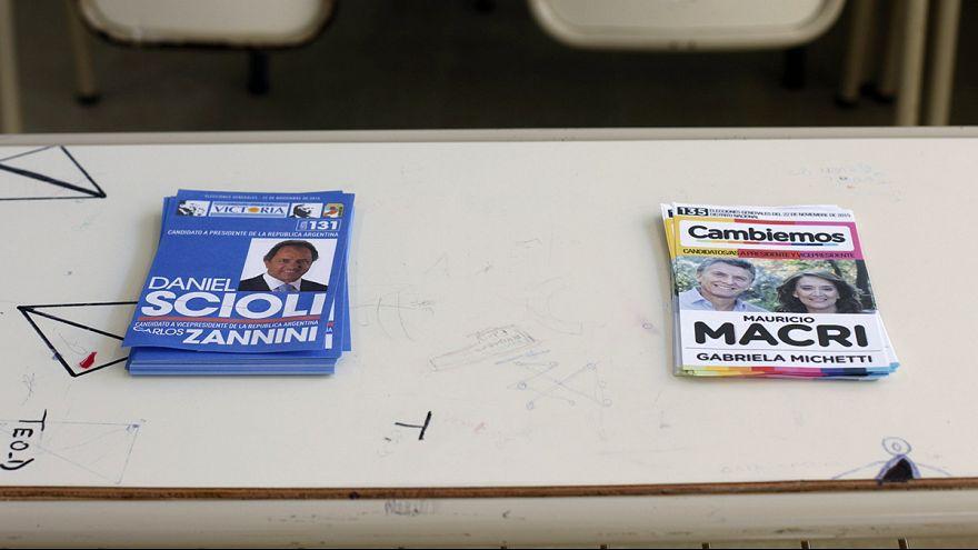 Vasárnap éjjel kiderülhet ki lesz Argentina új elnöke