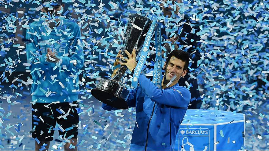 Djokovic downs Federer to secure ATP World Tour title in London