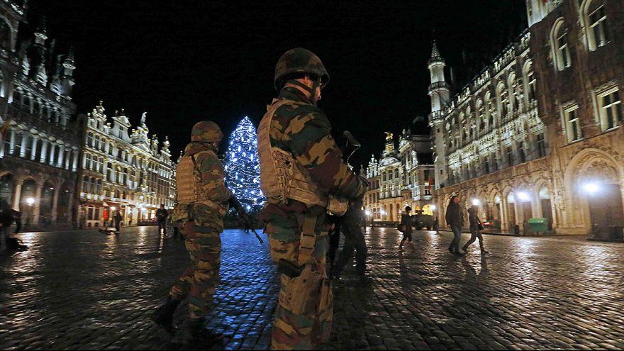 Marad a legmagasabb szintű terrorkészültség Brüsszelben