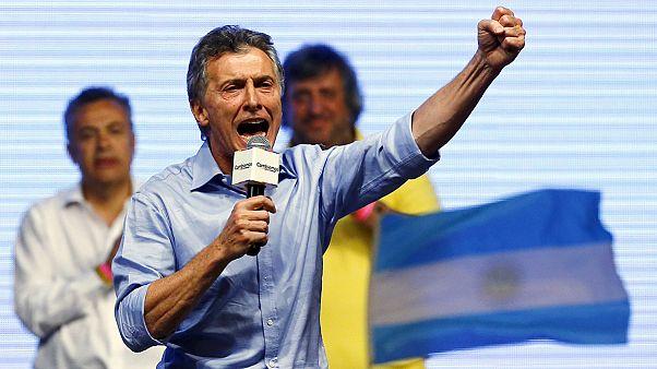Arjantin'in yeni lideri Mauricio Macri oldu