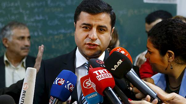 Turkish pro-Kurdish leader is unharmed after his car is hit by a bullet
