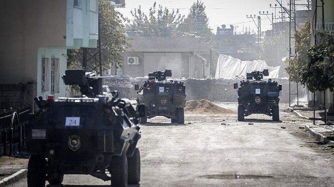 وضع مقرارات منع رفت و آمد و چندین کشته در شهر نصیبین ترکیه
