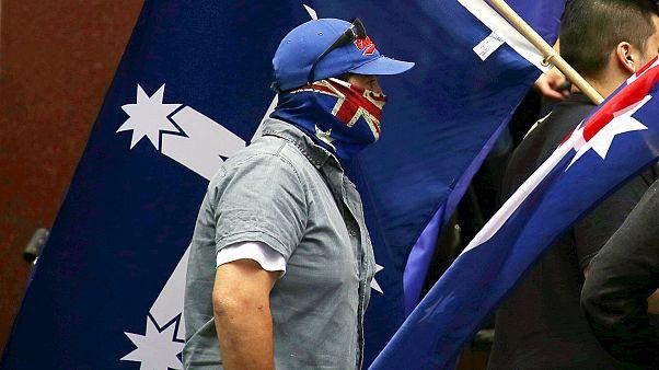 Enfrentamientos entre grupos antimusulmanes y grupos antirracistas en Australia