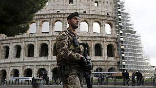 Terör saldırıları sonrası Roma'da güvenlik önlemleri arttırıldı